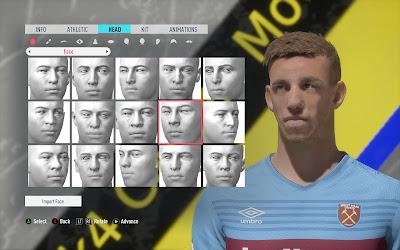 FIFA 20 Faces Tomáš Souček by Eslam