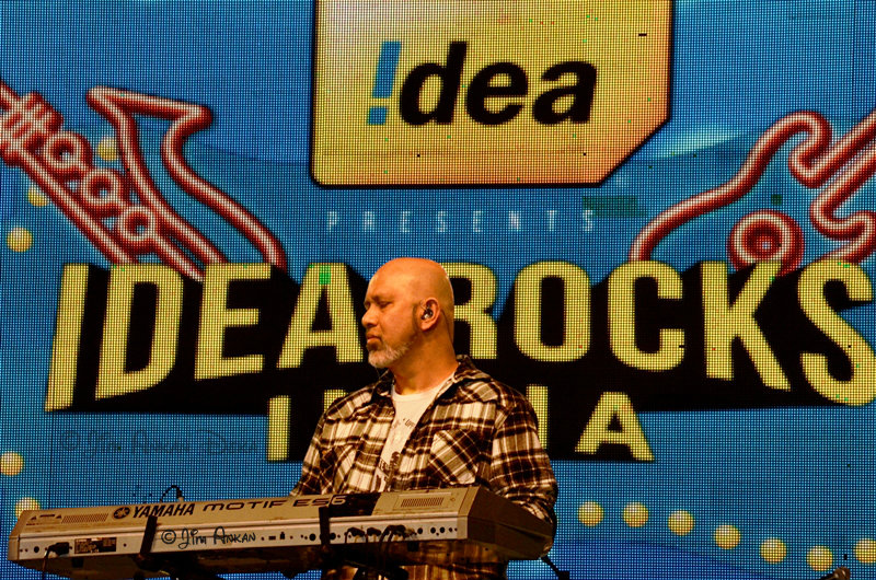 Loy Mendonsa at Idea Rocks India, Bangalore (photo - Jim Ankan Deka)