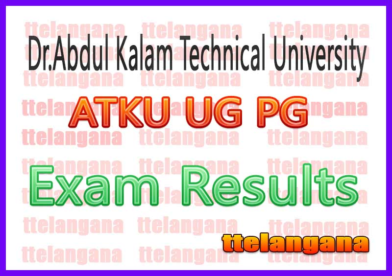 ATKU UG PG Result  UPTU Result