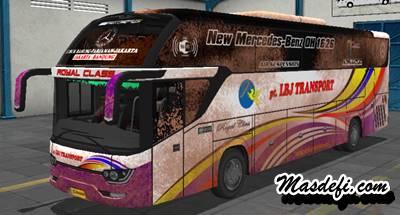 livery bussid srikandi shd lbj transport kotor