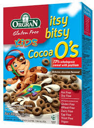 Orgran kids and family gluten free tasty foods