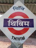 Thivim Railway Station North Goa