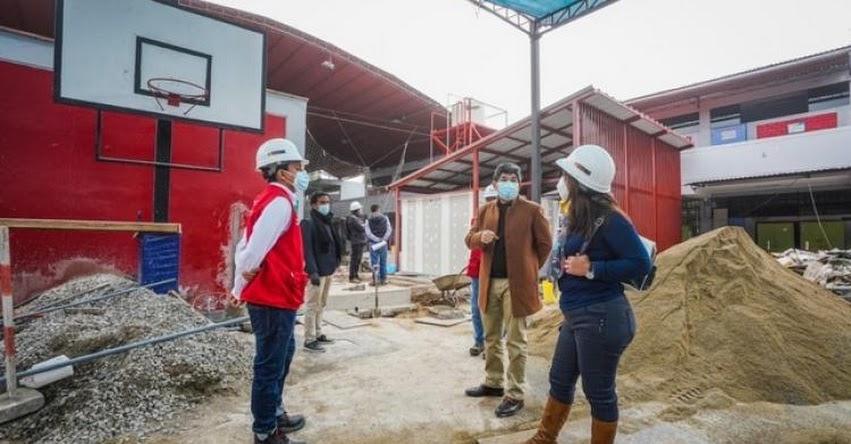 MINEDU realiza acondicionamiento de servicios higiénicos en 163 colegios de Lima