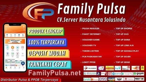 familypulsa.net Adalah Web Resmi Server Family Pulsa Murah