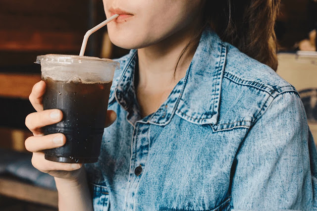Lower back pain - back pain - iced coffee