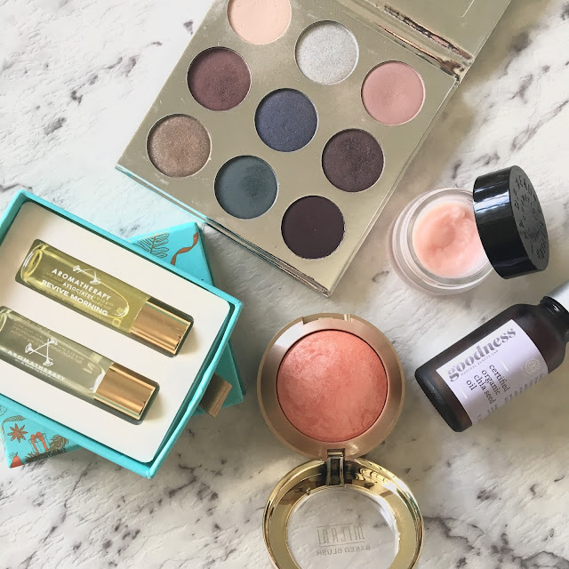 Aromatherapy Associates, Goodness Chia Seed Oil, Kylie Cosmetics Holiday Collection, Milani Cosmetics Luminoso, Mecca Cosmetica Lip Balm