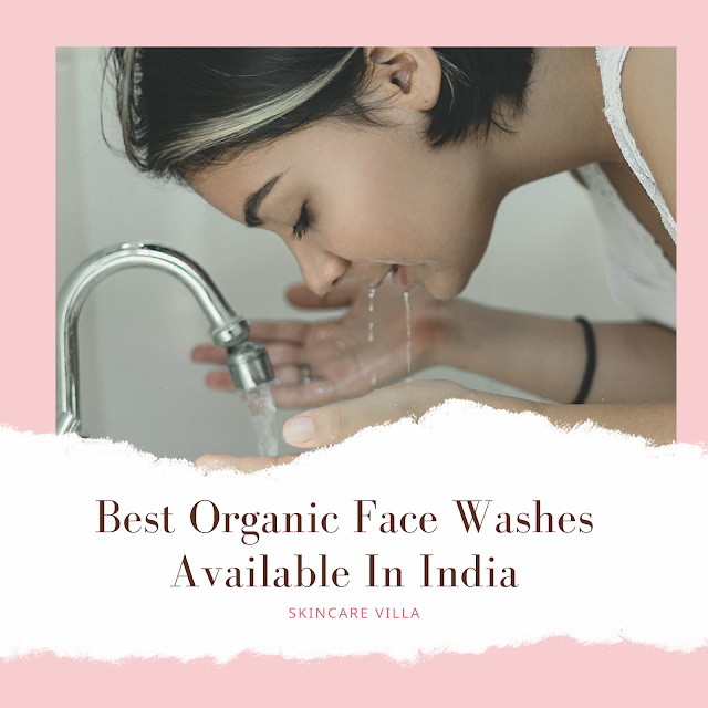 organic face wash in india
