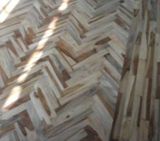grade c lantai kayu jati