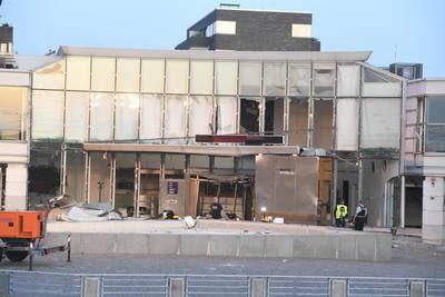 Sprādziens pie Dānijas ieņēmuma dienesta ēkas