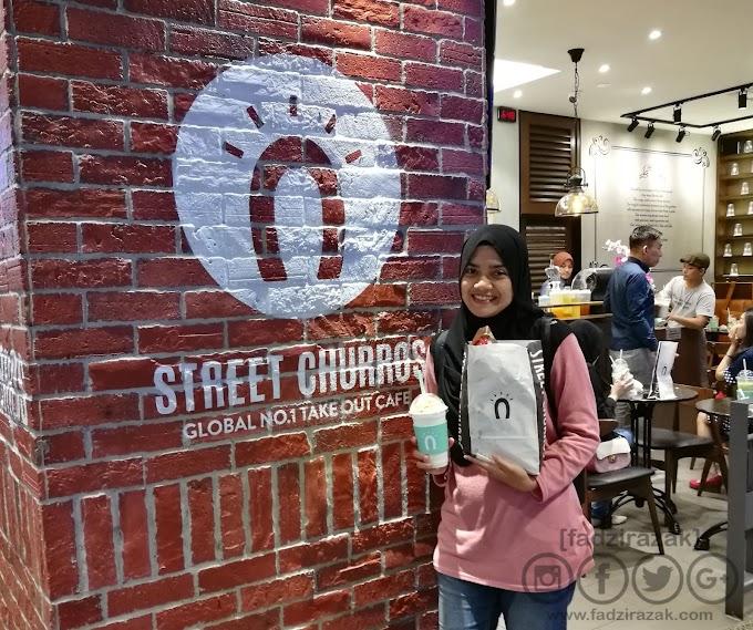 Makan Churros Dekat Street Churros Berjaya Times Square