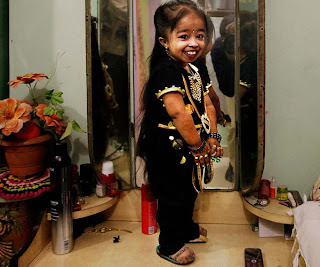 Beauty Of World's Shortest Woman 'Jyoti Amge'