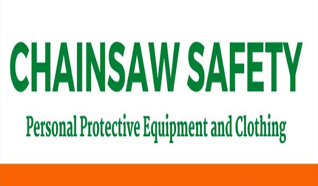 Chainsaw Safety Personal Protective Equipment (PPE) #infographic