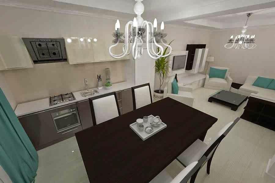 Design interior living casa - Design interior casa moderna in Constanta