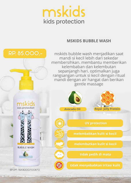 MS Kids Bubble Wash