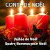 Conte de Noël : quatre flammes pour Noël
