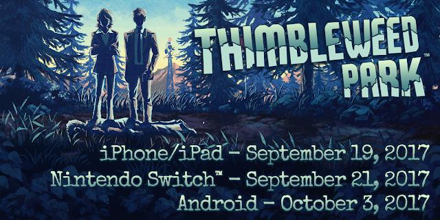 Thimbleweed Park ya tiene fecha para móviles y Nintendo Switch