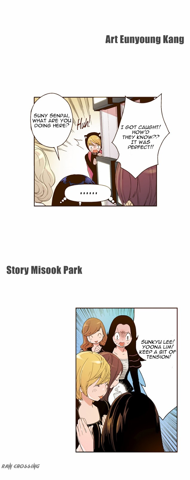 120614 SNSD @ NAVER WebToon 'ENT' Chapter 00 English Translation