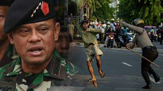 Jenderal Gatot Buka Pendampingan Hukum Bagi Pedemo Korban Kekerasan Aparat
