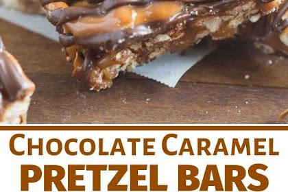Salted Chocolate and Caramel Pretzel Bars