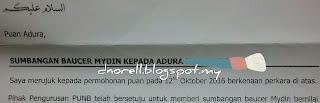 BlogDuraNorell - The Zizis and Me | Terima Kasih PUNB! | http://dnorell.blogspot.my | dura.norell@gmail.com | Kelab Blogger Ben Ashaari KBBA9 | Blogger Malaysia | WAHM