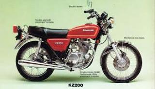 kz200 bahan custom