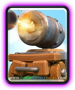 Carrinho de Canhão - Clash Royale