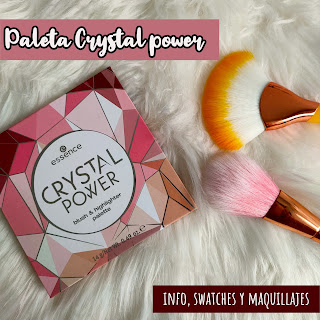 Paleta Crystal Power de Essence