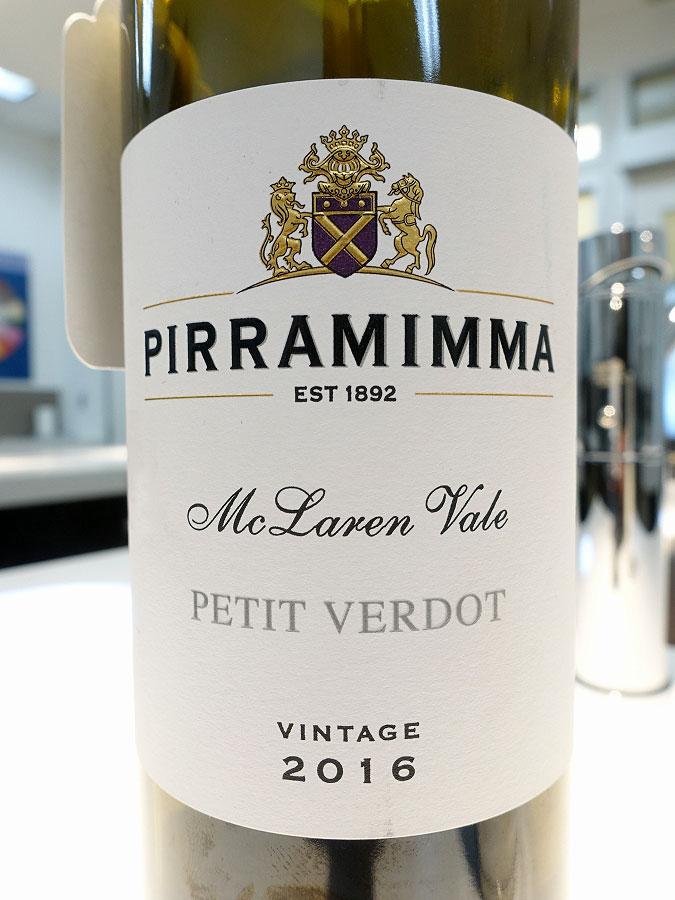 Pirramimma Petit Verdot 2016 (90 pts)