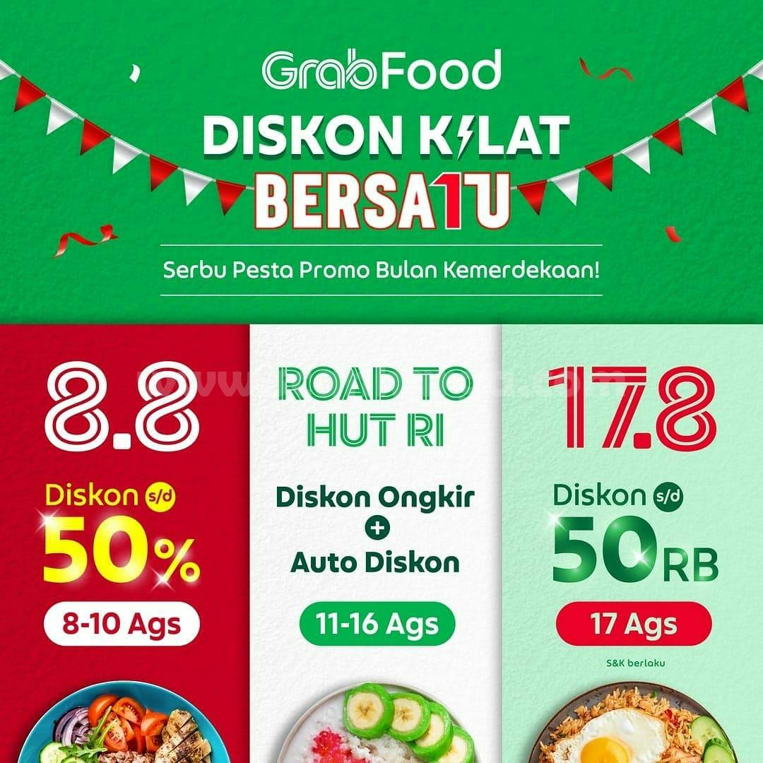 Promo Bebek Dower Diskon Kilat hingga 50% via Grabfood