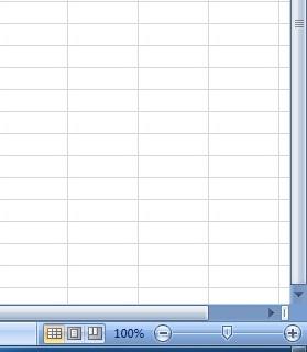 Fungsi Menu dan Ikon Pada Microsoft Excel 2007 Beserta Gambarnya