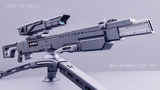 SciFi Weapon Design in Blender