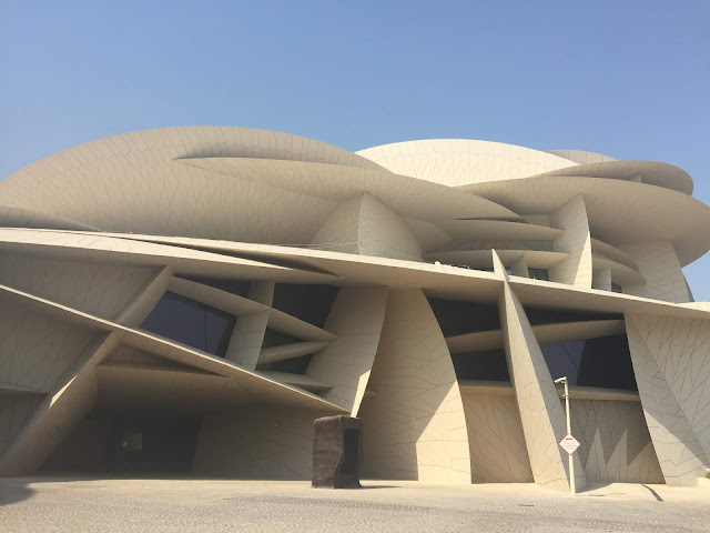 The National Museum of Qatar