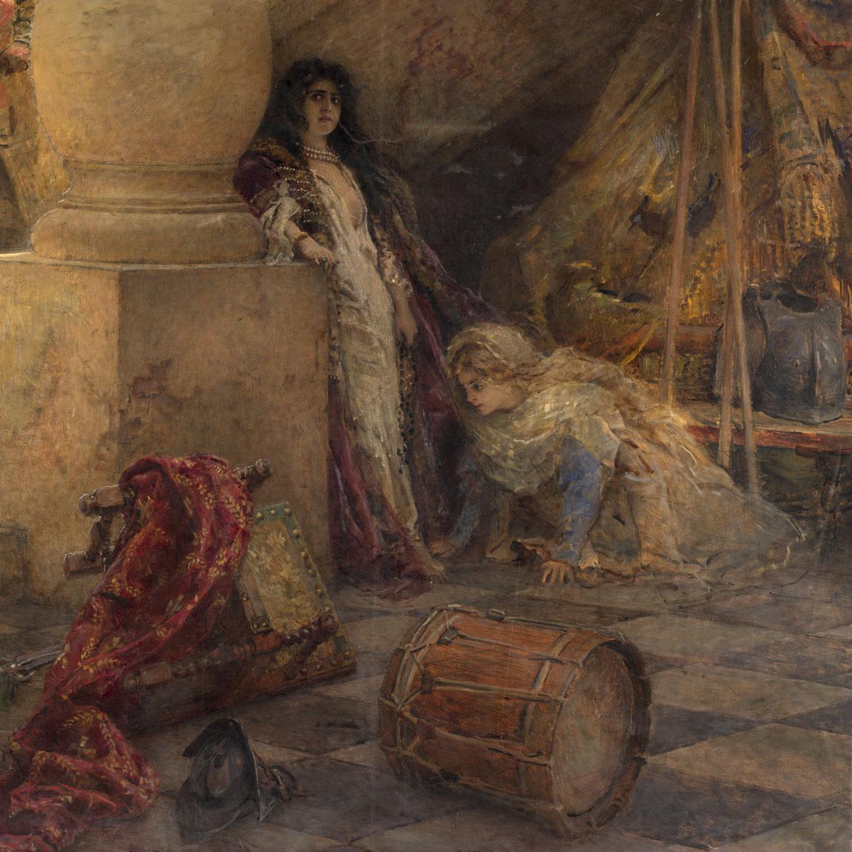 Painting Is Silent Poetry Konstantin Makovsky
