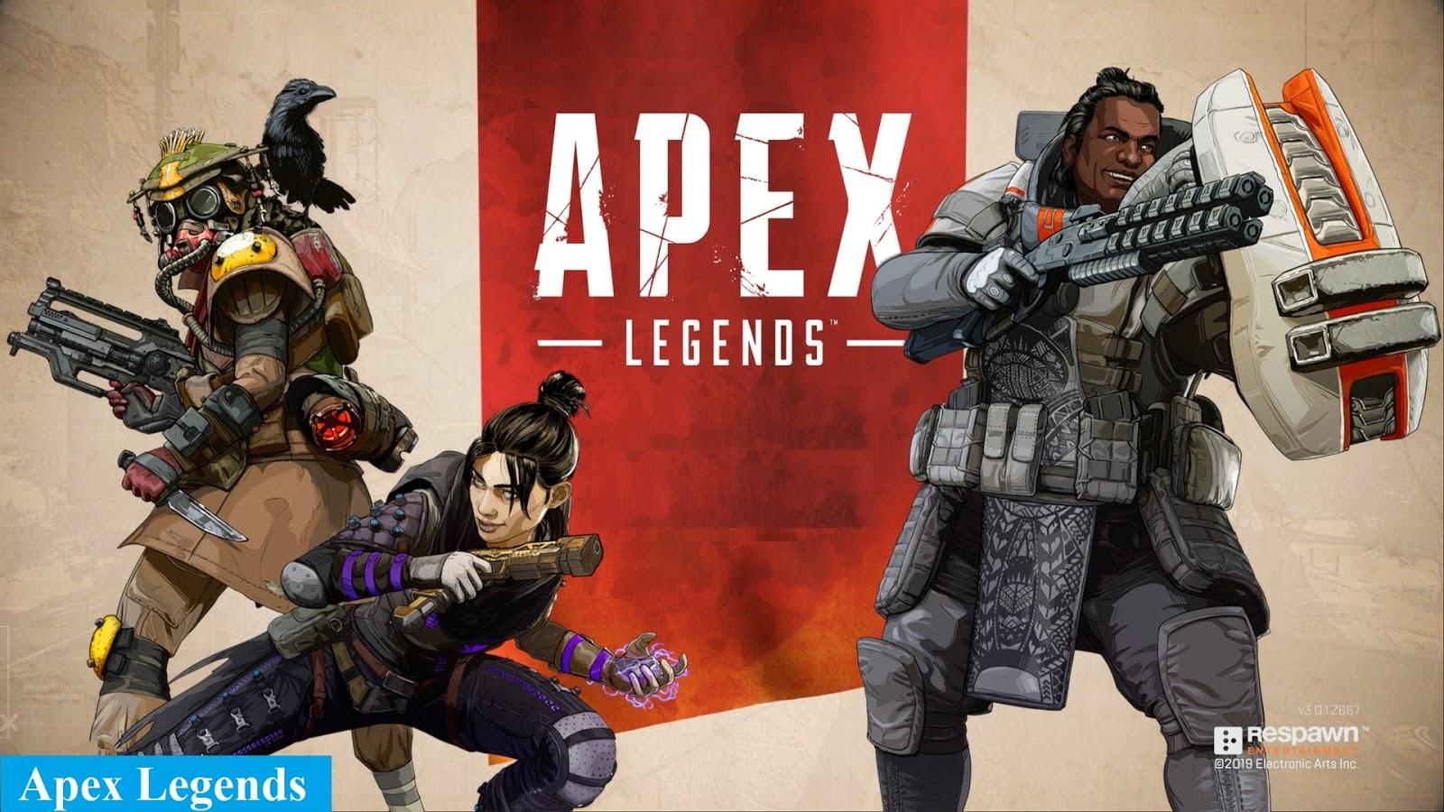 لعبة apex legends للكمبيوتر