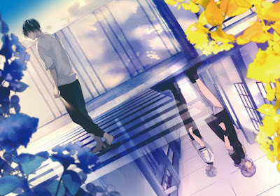 Mr. Mallow Blue é a nova série de Akaza Samamiya