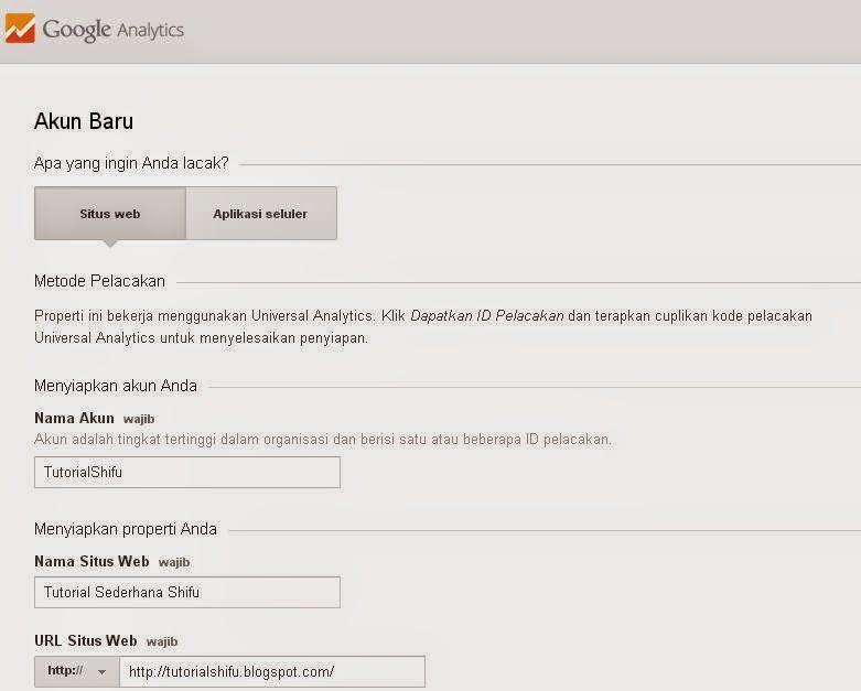 Cara Mendaftar Google Analytics Terbaru