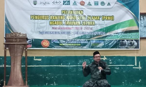 semangat warga nu jepara melayani umat muhammad