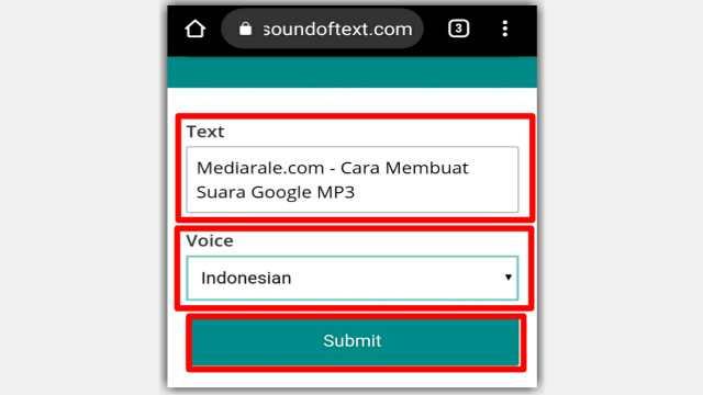 Cara Membuat Suara Google
