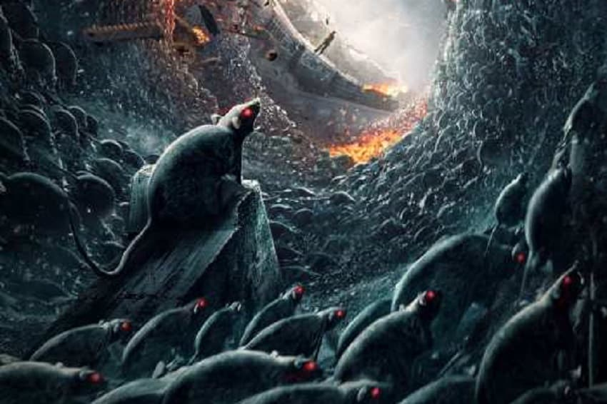 В трейлере китайского хоррора «Крысы в поезде» грызуны сходят с ума