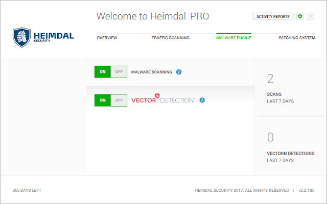 Heimdal PRO - Malware Engine