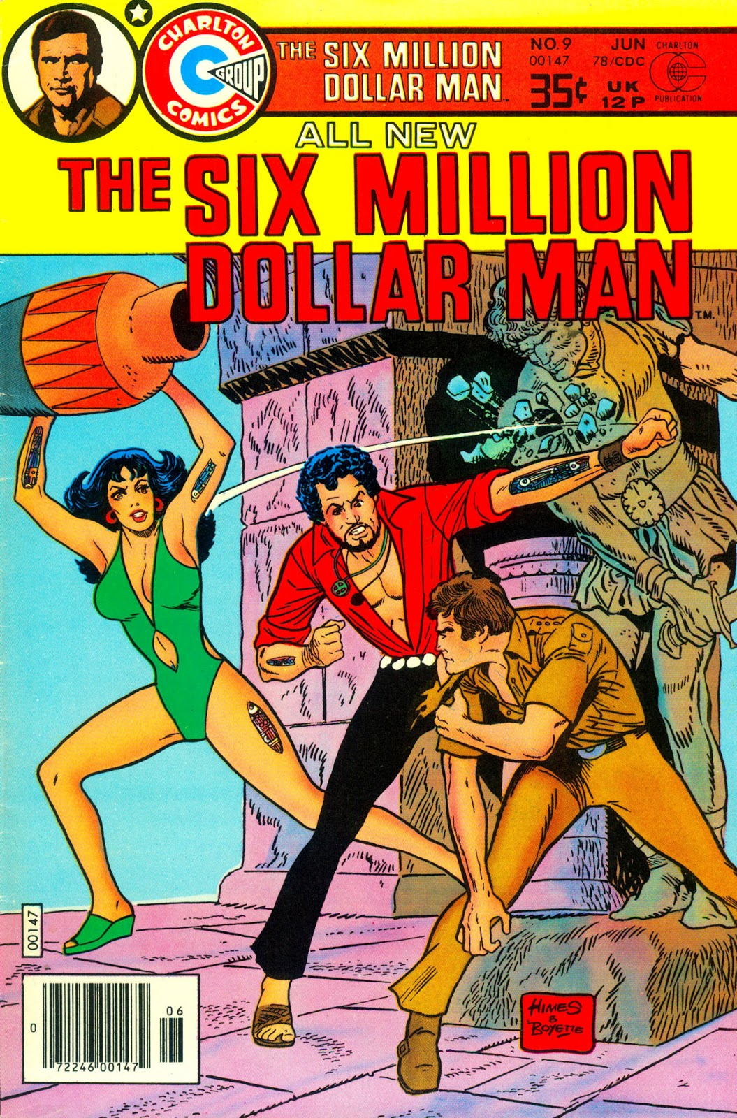 The Six Different Types Of Obesity: GEEK MEDIA AGAIN: 1976: THE SIX MILLION