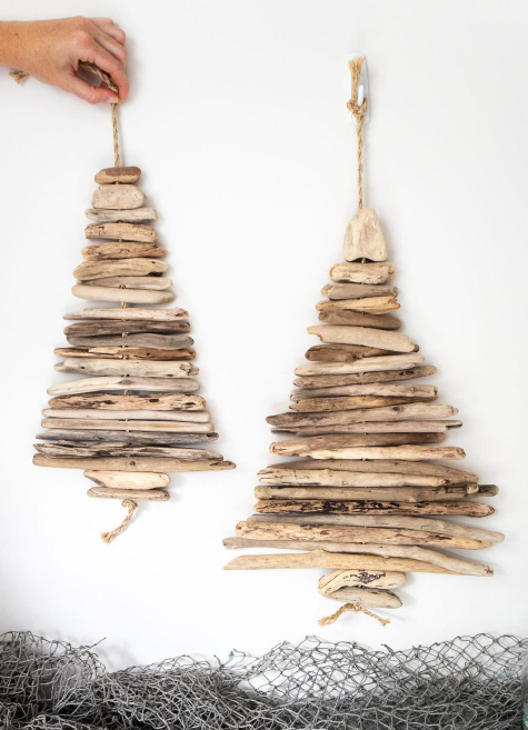 Hanging Driftwood Trees