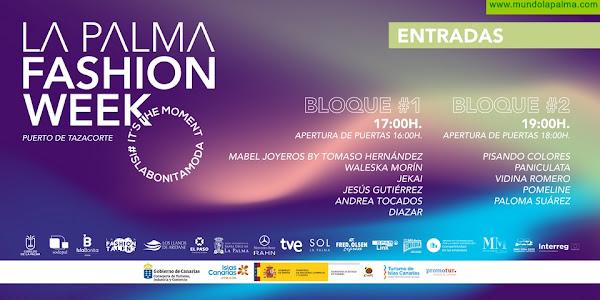 El Puerto de Tazacorte acoge el 17 de julio un desfile de moda solidario que avanza parte de las colecciones de La Palma Fashion Week 2021