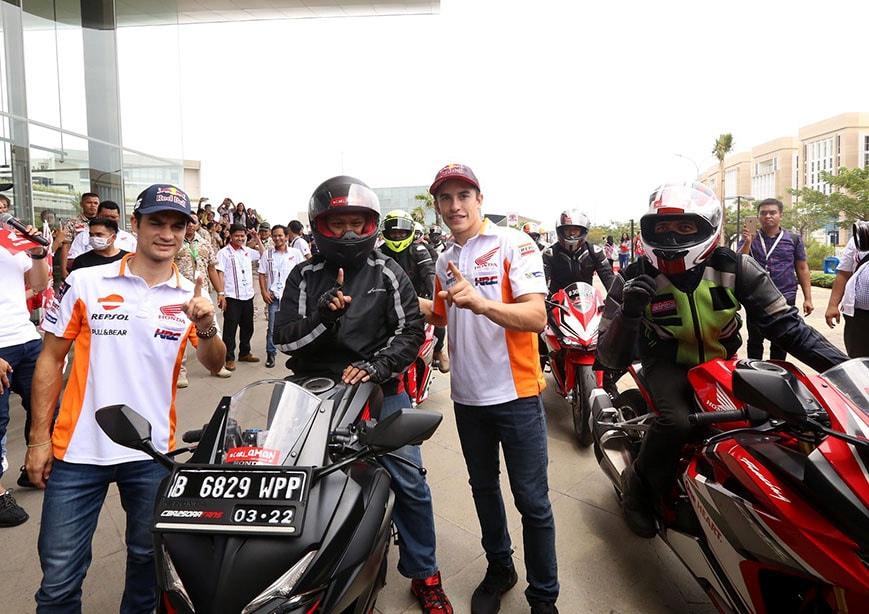 Fix tidak ada tanda tanda Marquez dan Pedrosa rilis Honda New CRF150L hari ini