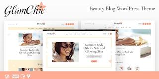 GlamChic v1.0.2   Beauty Blog & Online Magazine WordPress Theme