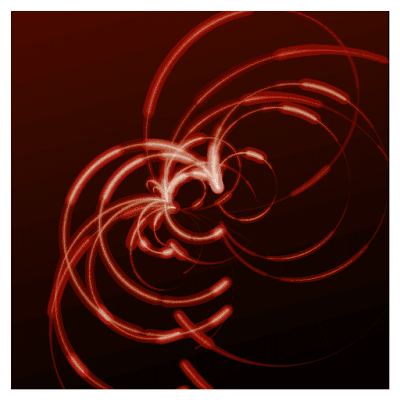 A generative art that I tried to express a cloud chamber.