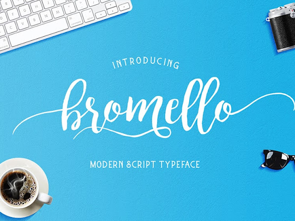 Bromello Brush Font Free Download
