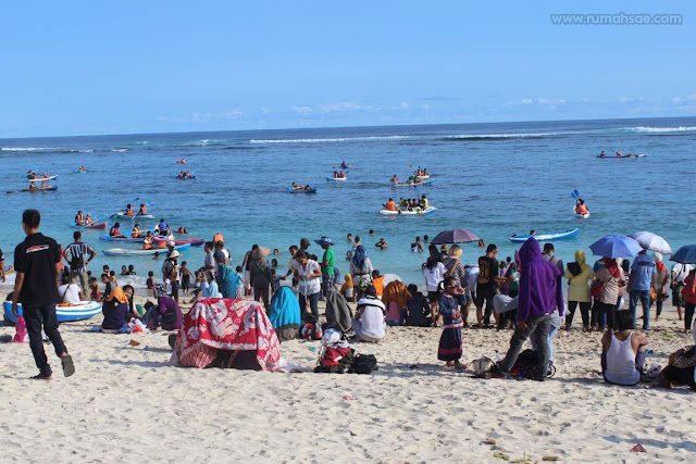 Pesona Pantai Pandawa di Pulau Bali Indonesia