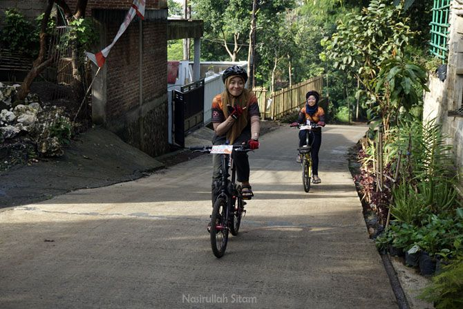 Skuad Sepeda Lipat masih kuat bersepeda