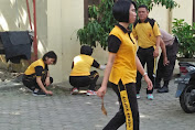 Menjelang Idul Adha 1440 H dan 17 Agustusan, Polsek Medan Helvetia Bersih-bersih Komando